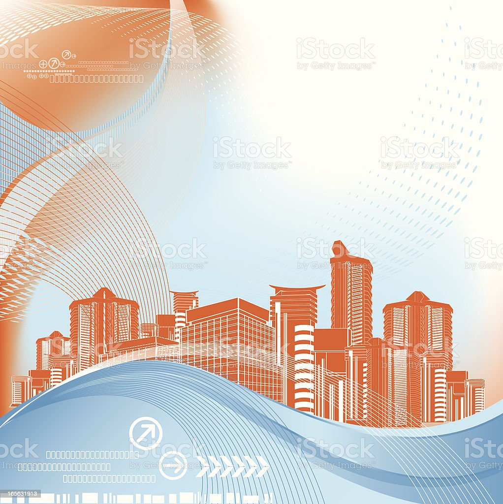 Abstract Architecture Background royalty-free stock vector art