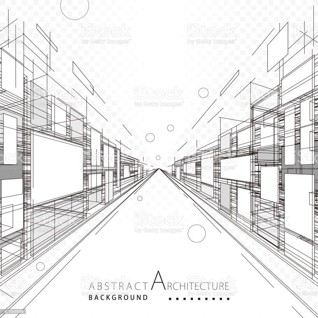 Abstrait Architecture et Design abstrait architecture et design vecteurs libres de droits et plus d'images vectorielles de abstrait libre de droits