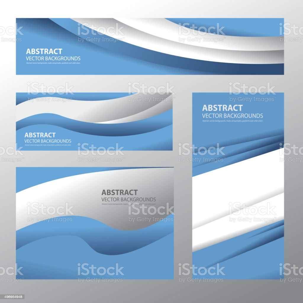 Abstract Argentina Flag (Vector Art) vektorkonstillustration