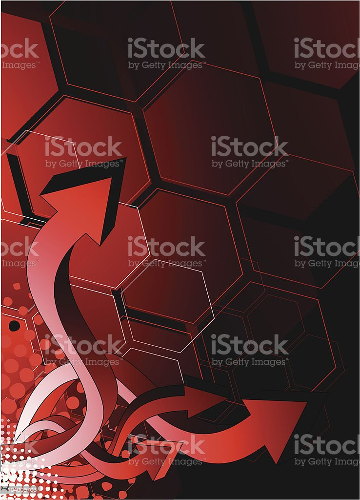 Abstract arrows background royalty-free stock vector art