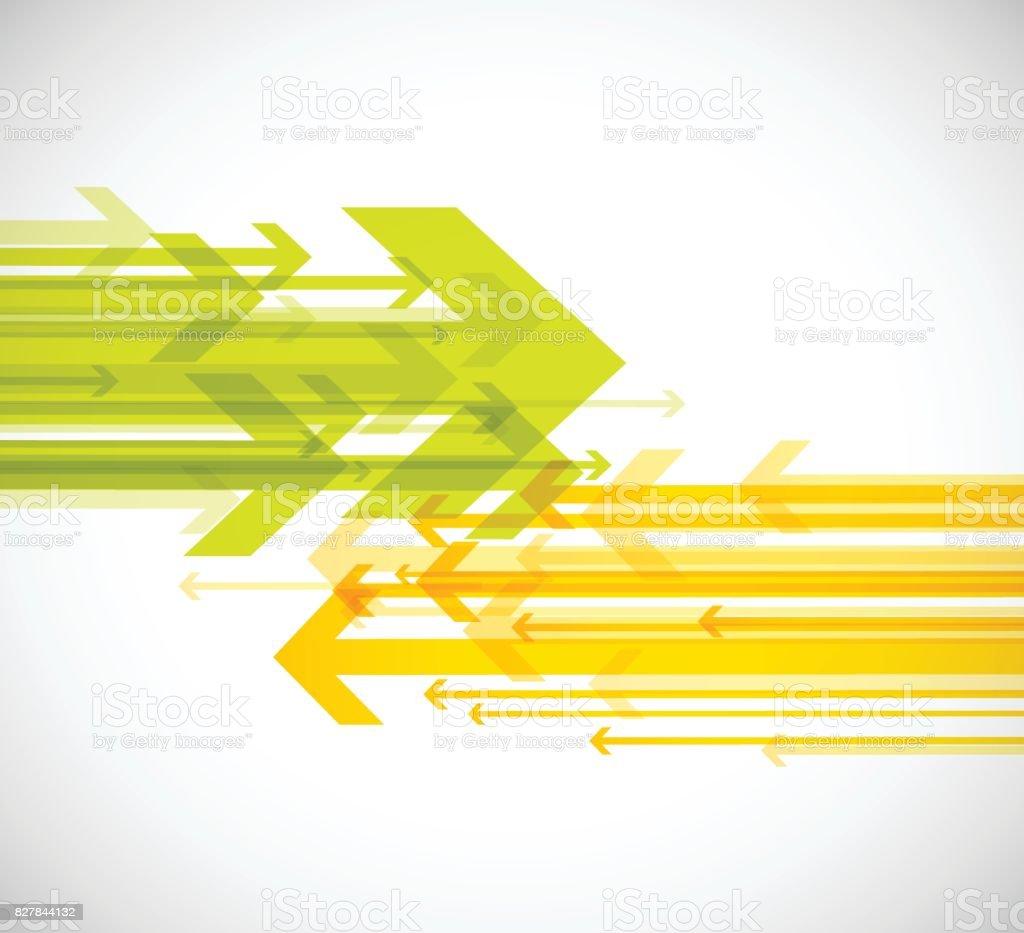 Papel de parede de fundo abstratas setas. - ilustração de arte em vetor