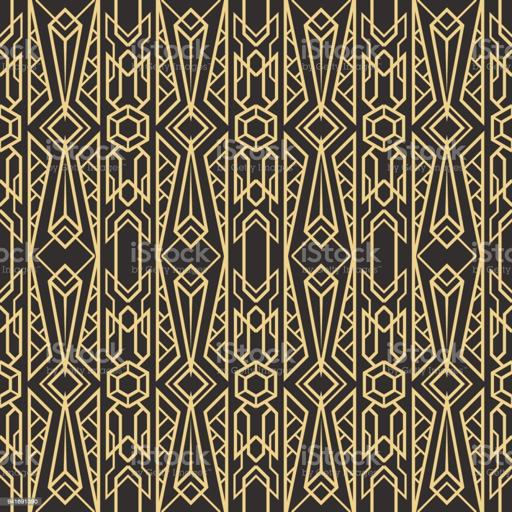 abstrakte kunst deco nahtlose modernen fliesen muster lizenzfreies abstrakte kunstdeco nahtlose modernen fliesen muster stock - Fliesen Mit Muster