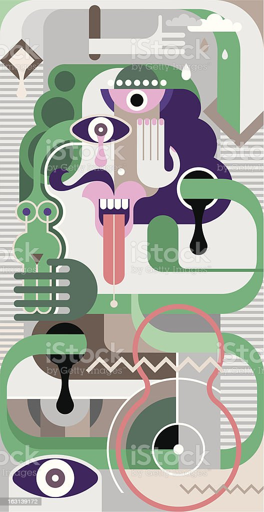 Abstract Art - vector illustration royalty-free abstract art vector illustration stock vector art & more images of abstract