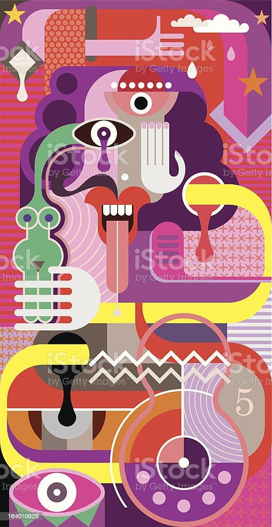Abstract Art - vector illustration vector art illustration