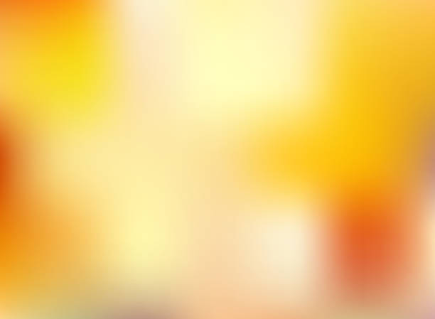 Abstract autumn season orange and yellow bright color blurred background. Abstract autumn season orange and yellow bright color blurred background. Vector illustration fall background stock illustrations