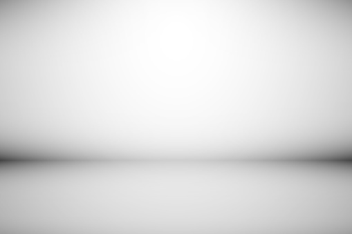 Abstract backdrop gray background. Minimal empty space with soft light