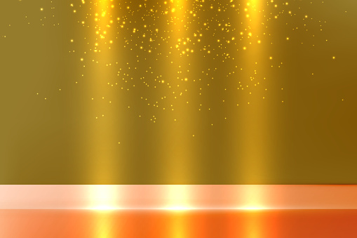 Abstract backdrop yellow background. Minimal empty space.