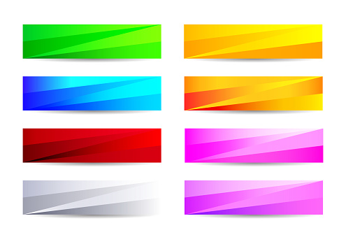 Abstract Background, Banner, Flyer And Letterhead Design