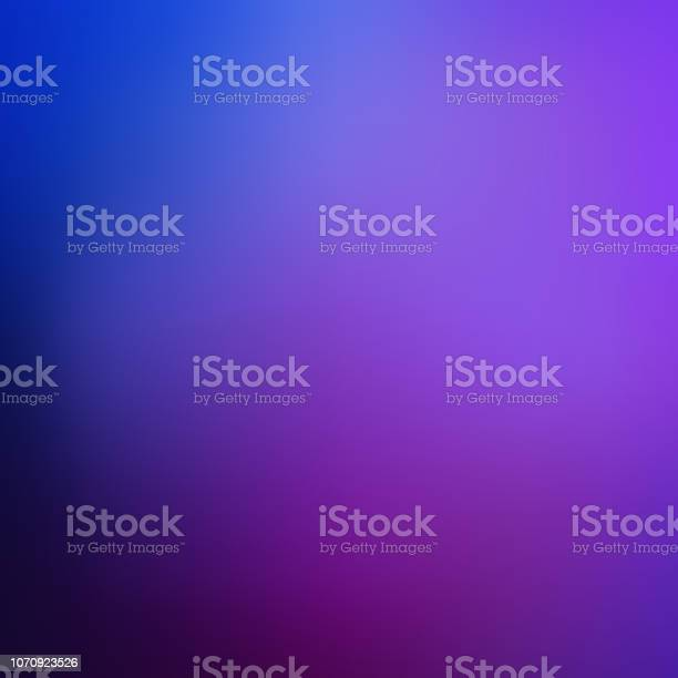 Abstract Background Blurred Dark Blue And Purple Backdrop Smooth Banner Template Easy Editable Soft Colored Vector Illustration Mesh Gradient - Arte vetorial de stock e mais imagens de Abstrato