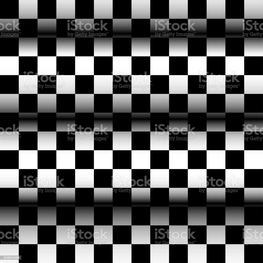 Zusammenfassung Hintergrund Schachbrett Optische Tauschung Textur