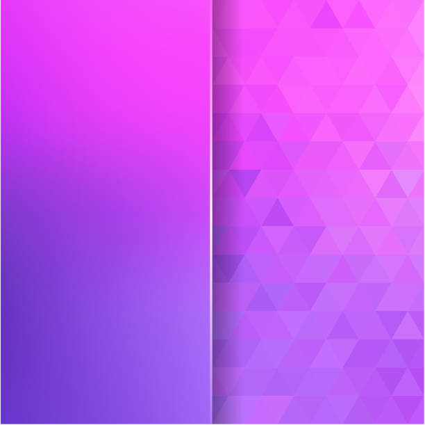 abstract background consisting of colorful triangles and matt glass abstract background consisting of triangles and matt glass baby girls stock illustrations