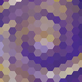 abstract background consisting of hexagons, vector illustration