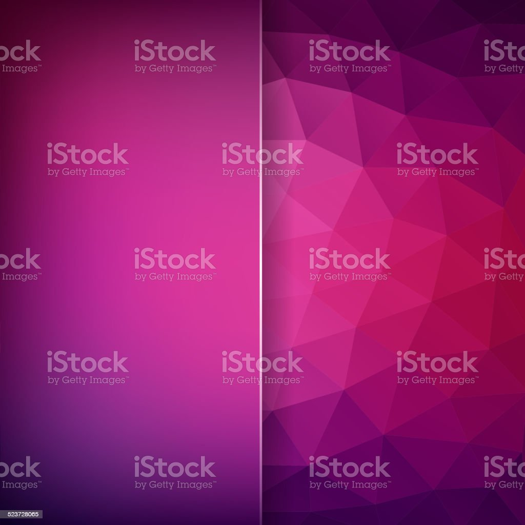 abstract background consisting of triangles vector art illustration