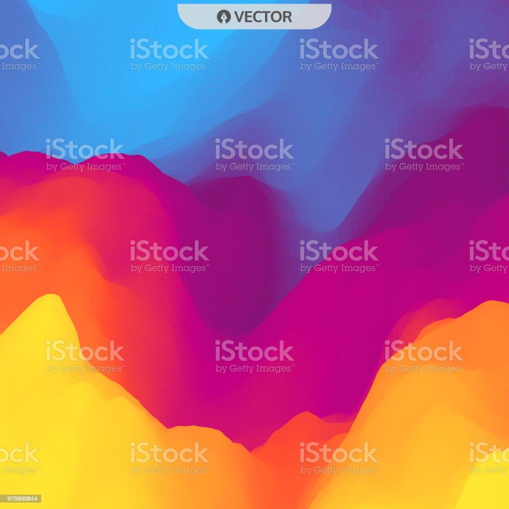 Zusammenfassung Hintergrund Designvorlage Moderne Muster