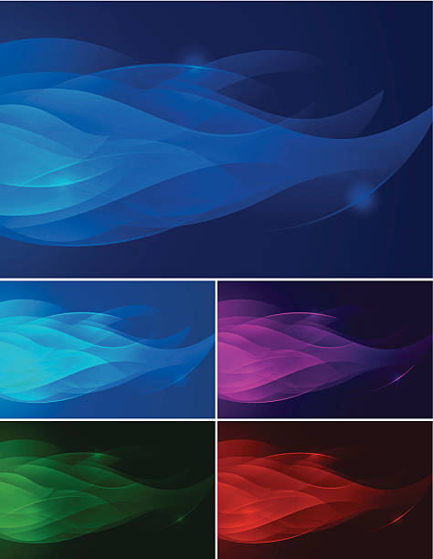 Abstract Background - Flame vector art illustration