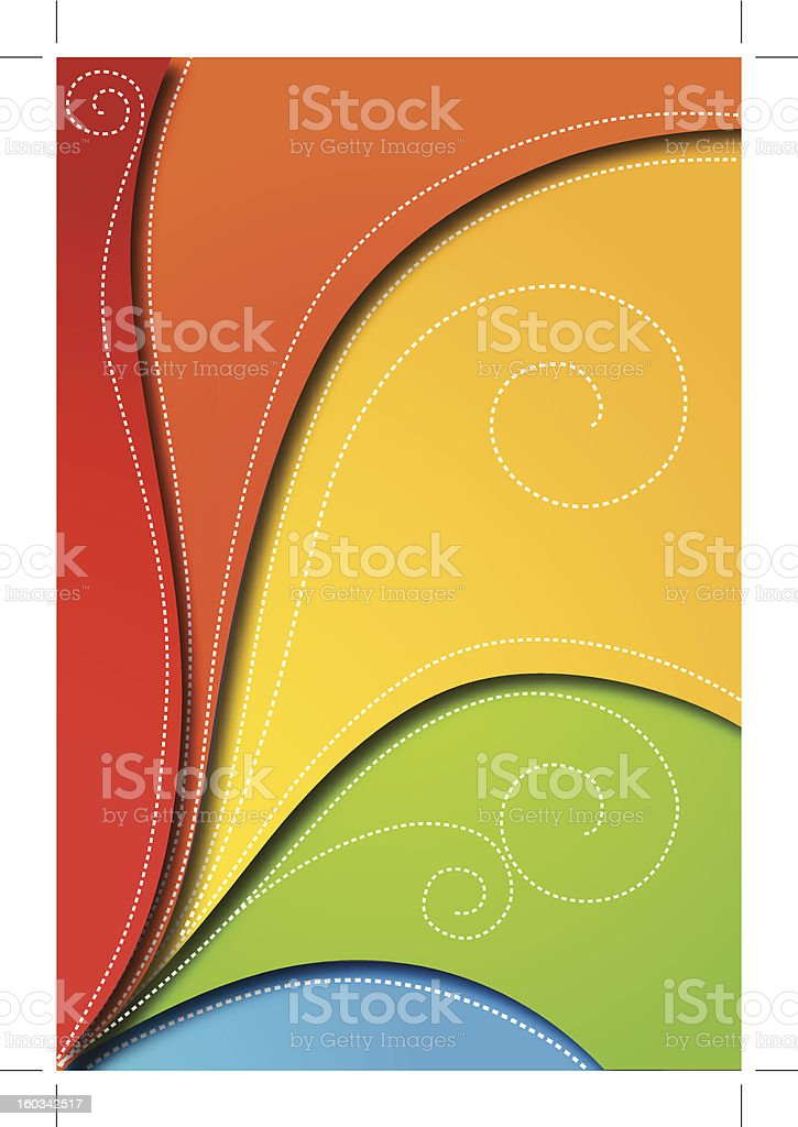 Abstract background for design. Vector royalty-free stock vector art