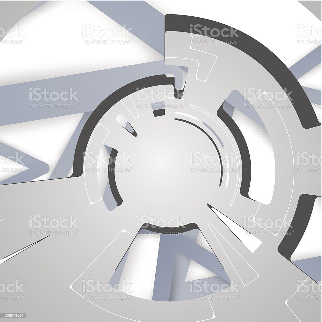 abstract background for futuristic tech design royalty-free stock vector art