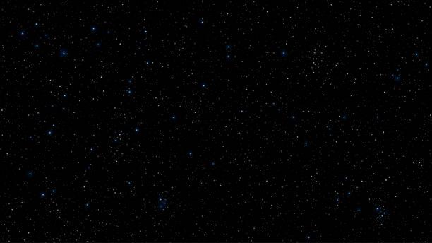 illustrations, cliparts, dessins animés et icônes de abstrait pour votre projet. le beau ciel étoilé est bleu. les étoiles brillent dans l'obscurité complète. une fantastique, immense galaxie. espace ouvert. illustration vectorielle. eps 10 - désert
