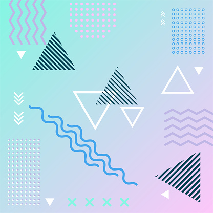 Abstract   background geometric element.