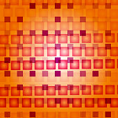 Abstract background. Geometric  modern  illustration with red squares.