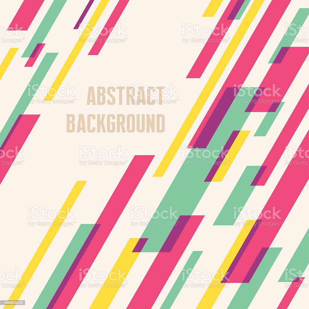 Abstract background - geometric vector pattern vector art illustration