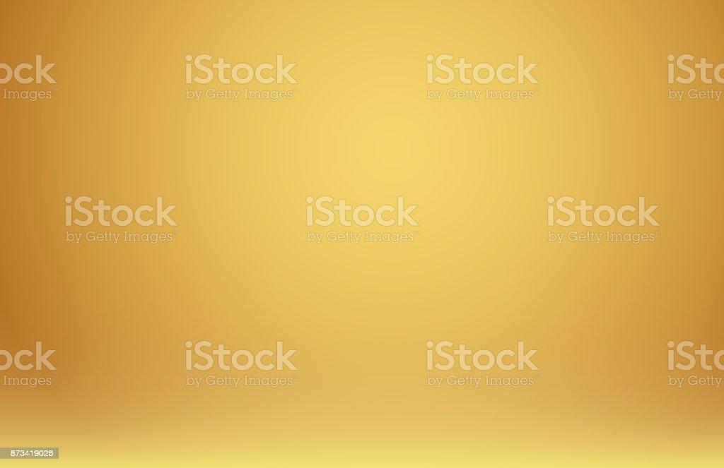 Abstrakt bakgrund lutning gyllene guld lyx. vektorkonstillustration