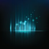 Abstract background graphic equalizer vector eps 10
