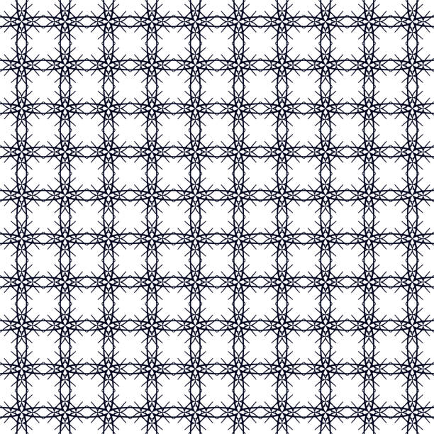 Abstract background, grate pattern vector art illustration