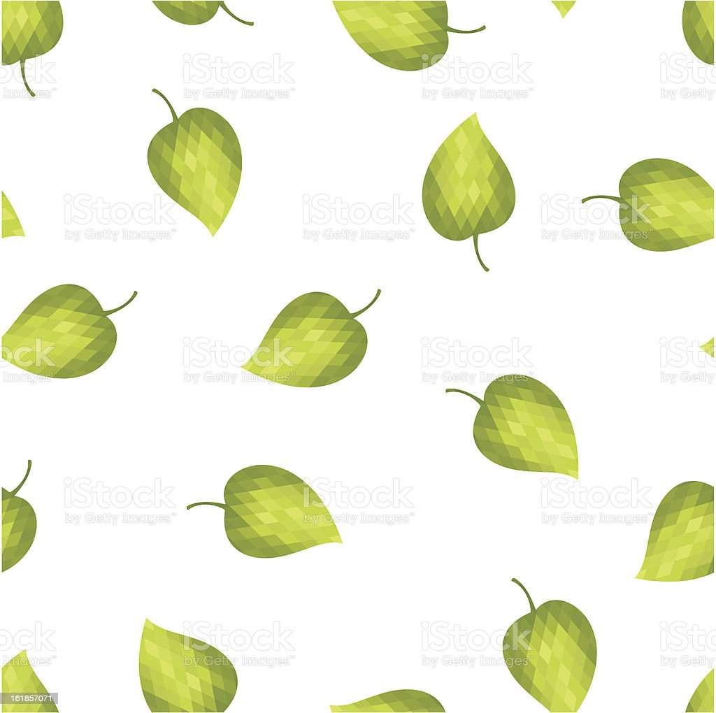 Abstract background green leaves royalty-free stock vector art