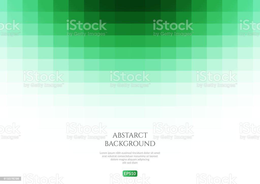 Zusammenfassung Hintergrund Grüne Rechtecke Platz Für Text Stock