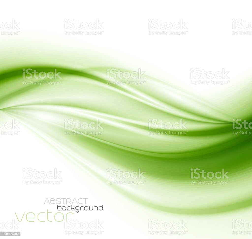 abstract background green vector art illustration