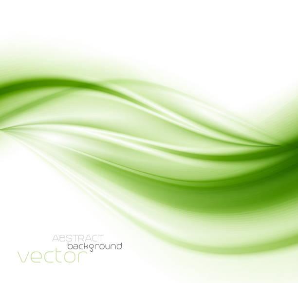 abstract background green vector art illustration