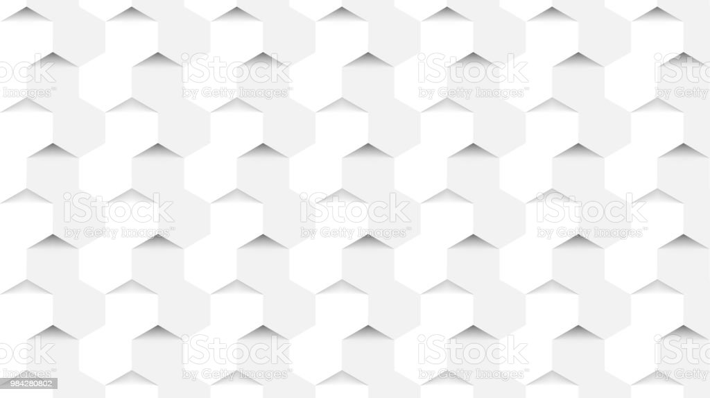 Abstract background in modern style. Hexagons concept. Vector vector art illustration