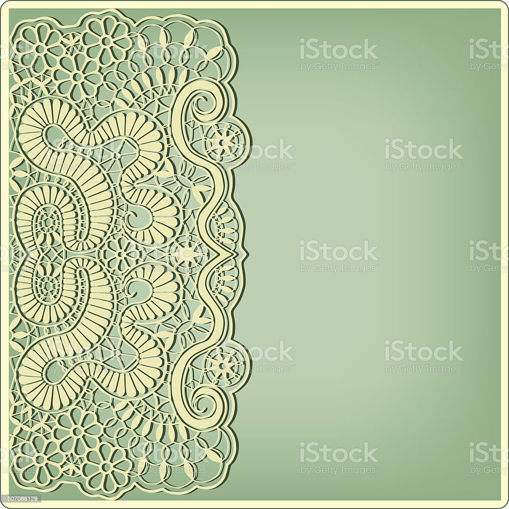 Abstract background lacy frame border pattern wedding invitation abstract background lacy frame border pattern wedding invitation card design royalty free abstract stopboris Gallery