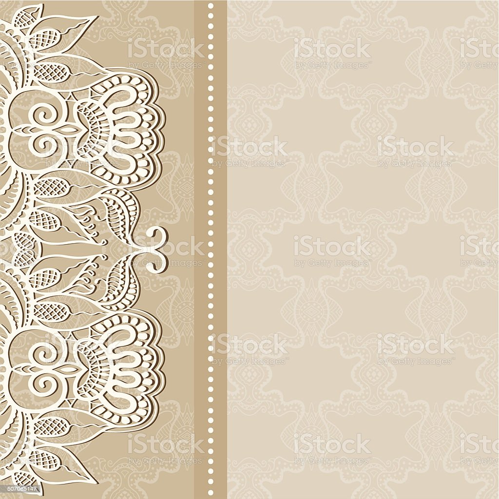 Abstract background lacy frame border pattern wedding invitation abstract background lacy frame border pattern wedding invitation card design royalty free abstract stopboris Image collections