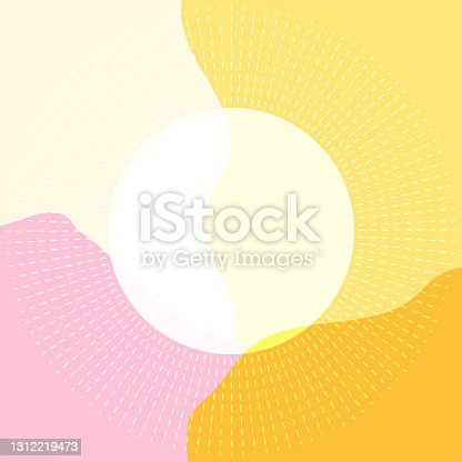 istock abstract background liquid style leaves combination 1312219473