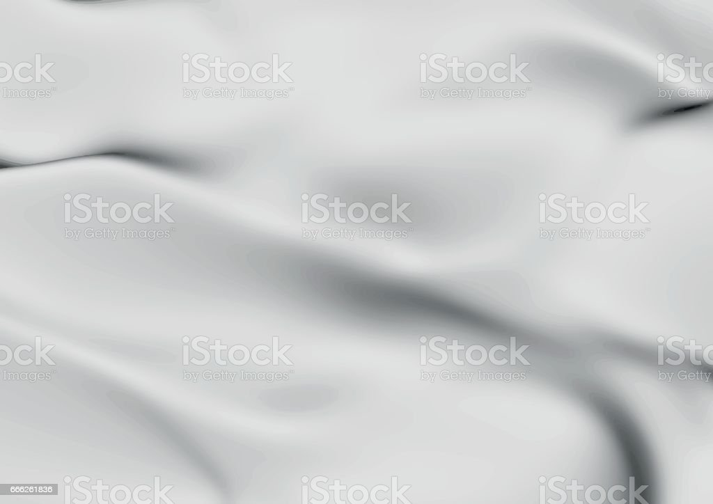 abstract background messy white fabric vector art illustration