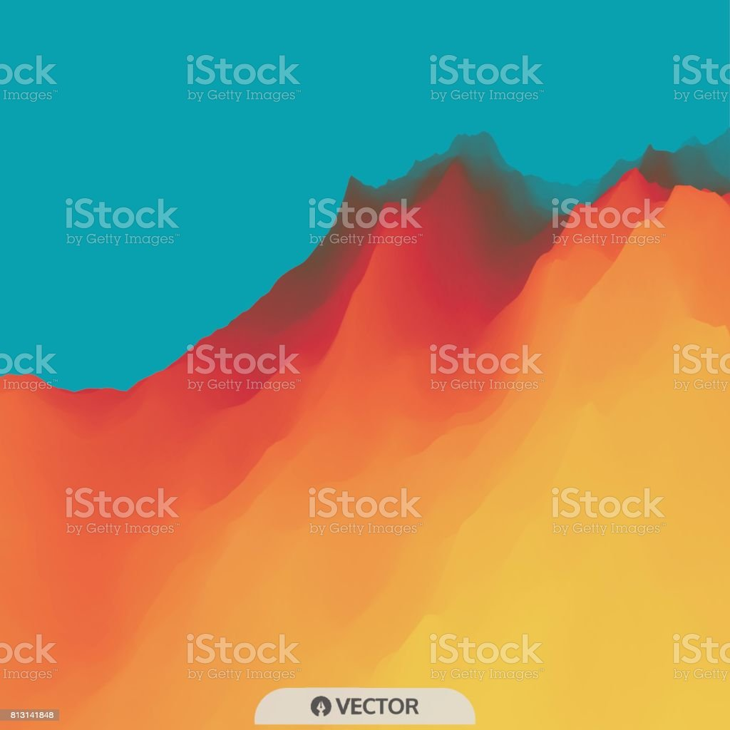 Abstract background. Modern pattern. Vector illustration. vector art illustration