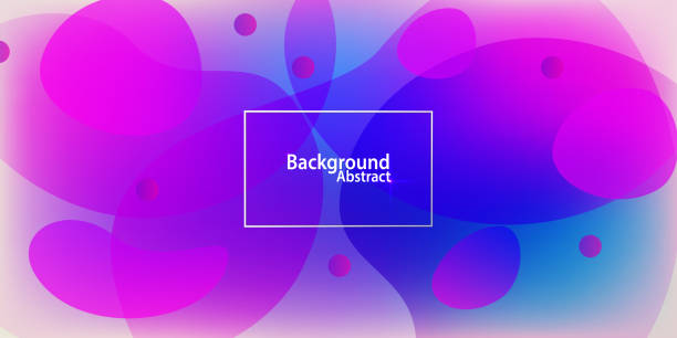 Abstract Background Multi Colored Abstract Background Multi Colored fractal stock illustrations