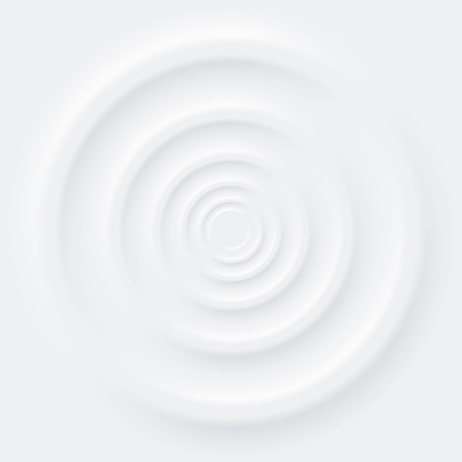 Abstract background neomorphism style. Circle shape