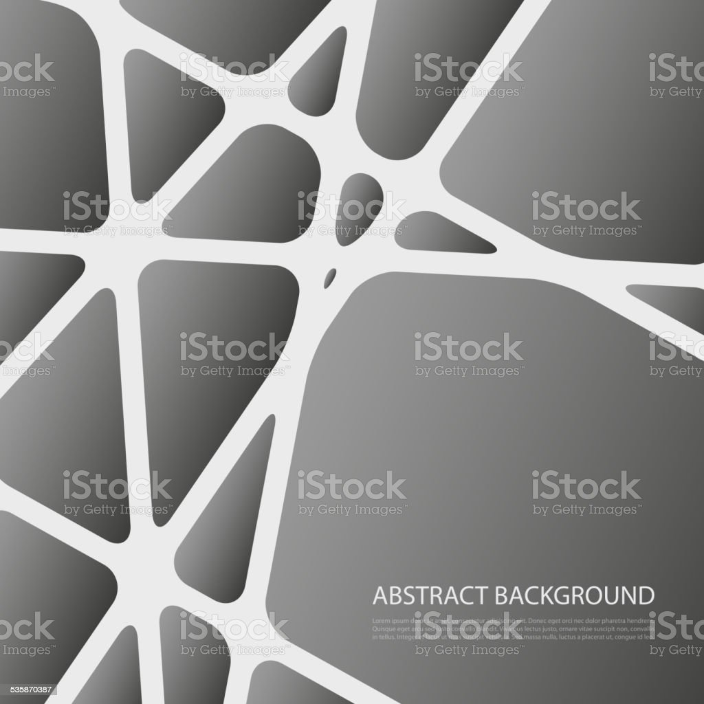 Black and White Crossing Lines Background - Networks Abstract Design...