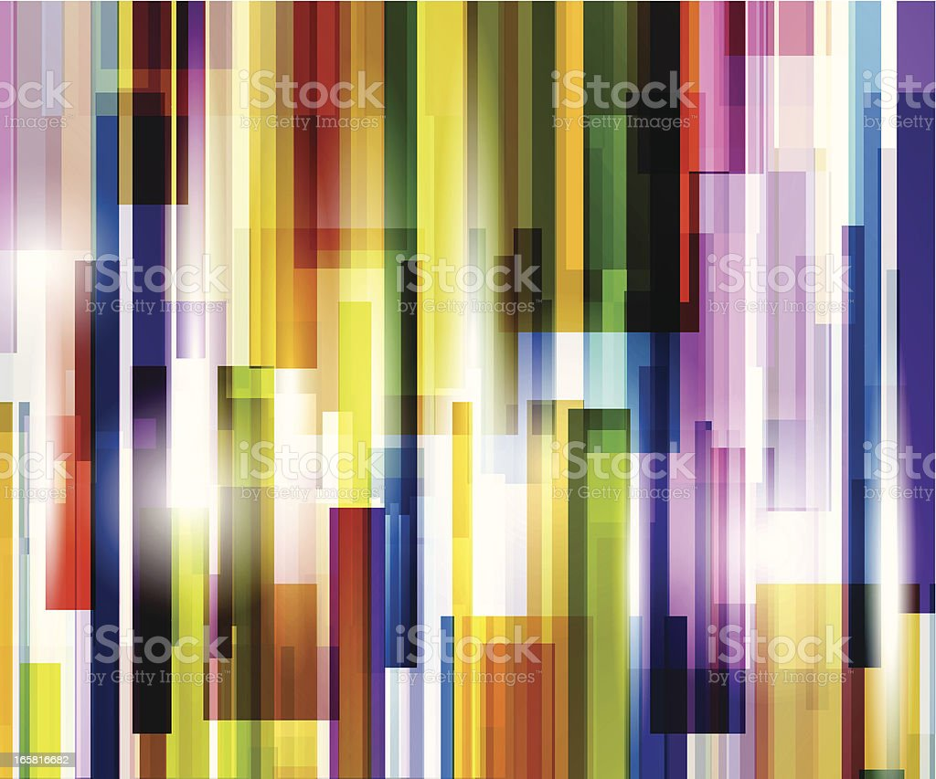 Abstract background of colorful lines royalty-free stock vector art