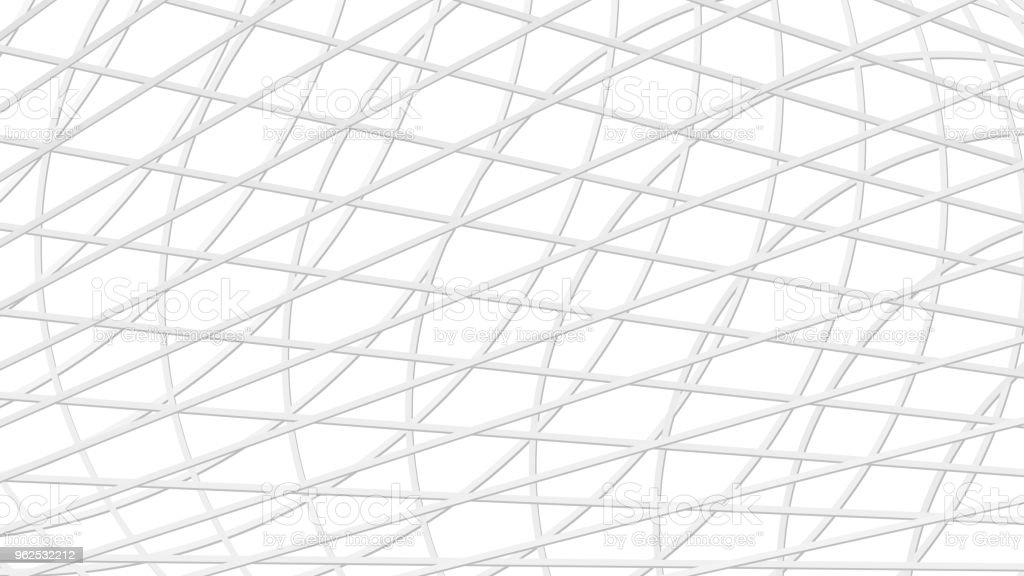Abstrato de linhas de interseção - Vetor de Abstrato royalty-free