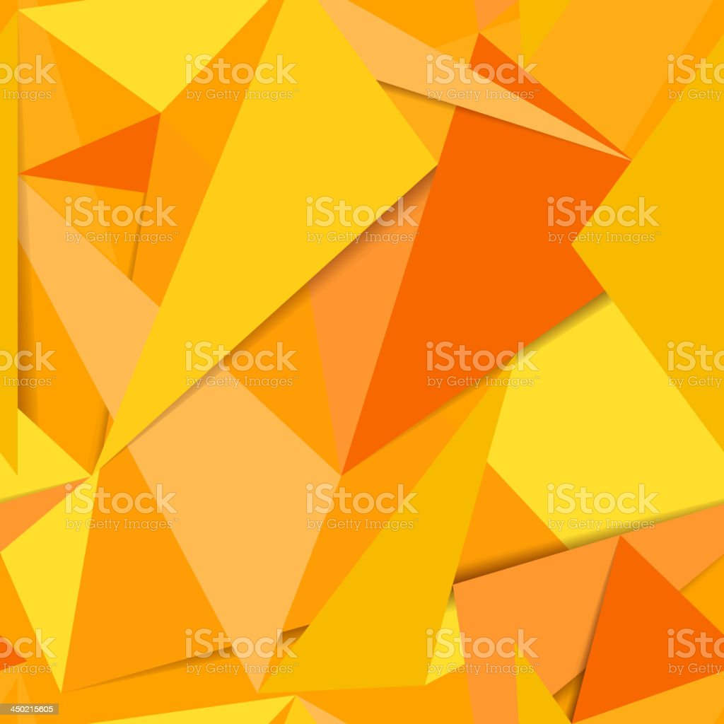 Abstract background of paper scraps vector art illustration