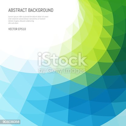 istock Abstract background of waves and lines. Distortion of space. 903036058