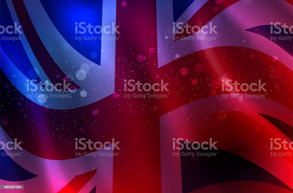 Abstract background of waving English flag royalty-free abstract background of waving english flag stock vector art & more images of backgrounds