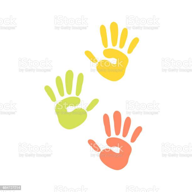 Abstract background prints of hands of the child vector illustration vector id654727214?b=1&k=6&m=654727214&s=612x612&h=qvhf3dnfvkgm0d6b pu2w1xrl x4wkluk37 lk3nomy=