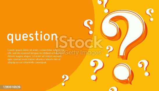 istock Abstract background question mark 1280616526