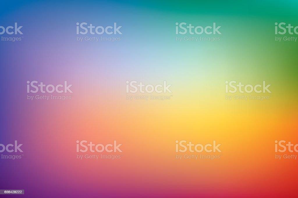 Antecedentes, gradiente de malla de arco iris, patrón de presentación, papel pintado de diseño vectorial - ilustración de arte vectorial