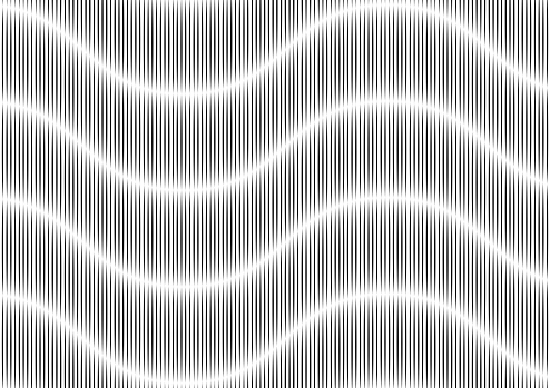 Abstract Background Rippled Black Lines
